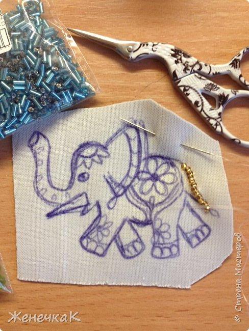 Мой маленький слоник. Родилась Новая брошечка. фото 4