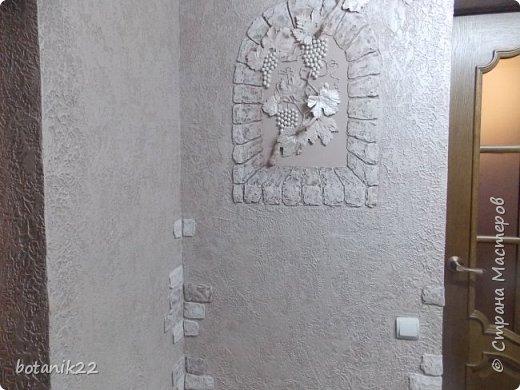 Декоративная штукатурка и панно из шпаклевки. фото 8