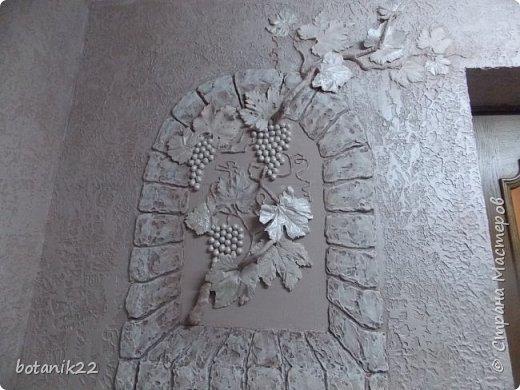 Декоративная штукатурка и панно из шпаклевки. фото 1