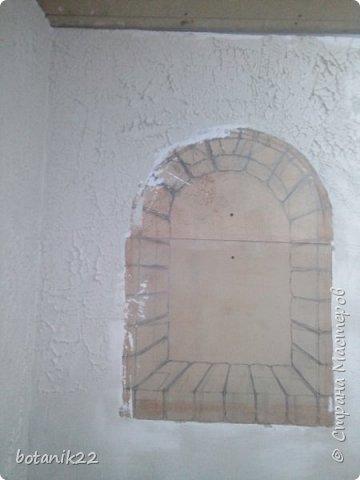 Декоративная штукатурка и панно из шпаклевки. фото 3