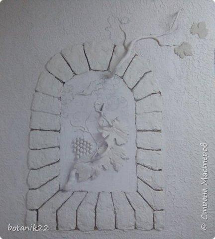 Декоративная штукатурка и панно из шпаклевки. фото 4
