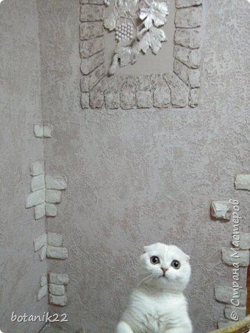 Декоративная штукатурка и панно из шпаклевки. фото 7