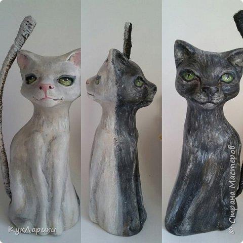 Всем Привет!Когда то случайно я изобрела таких котов неразлучников,двусторонних.Конечно может их изобрели и до меня но я нигде таких не встречала,поэтому могу сказать ,что это мой велосипед. фото 13