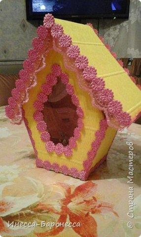 Домики для сладких подарков. фото 4