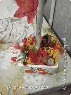 Осенний топиарий фото 3