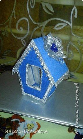 Домики для сладких подарков. фото 1
