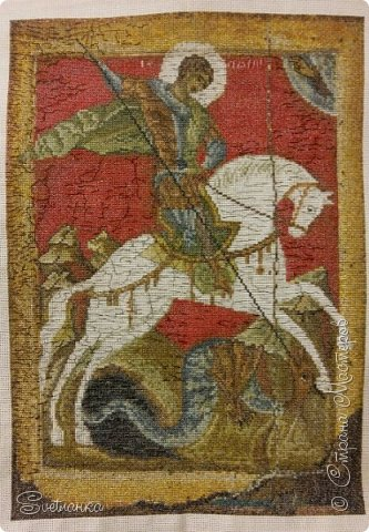 Вышивка икон бисером фото 18