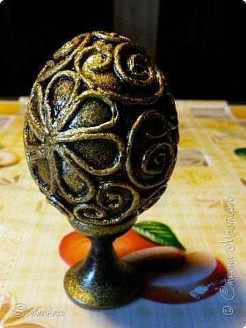 Впервые попробовала технику пейп-арт Татьяны Сорокиной http://stranamasterov.ru/user/151613 Декорировала яйца к Пасхе. Это яйцо было куплено в фикспрайсе, оно открывается и превращается в шкатулку)  фото 8