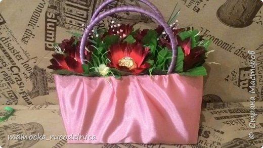 Розовая сумочка фото 2