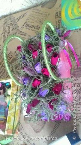 Сладкая сумочка с розами фото 2