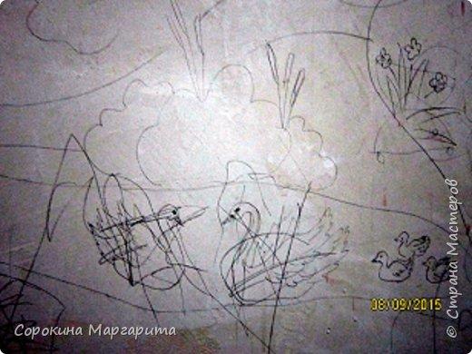 """В детской была просто стена ... Пофантазировала на тему """"Сказочный замок и принцессы"""" ...Закончили рисовать к Новому году, в декабре...а начиналось в сентябре))) фото 8"""