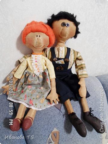 На чердаке, в старом сундуке, позабытые всеми, лежали две куклы... фото 5