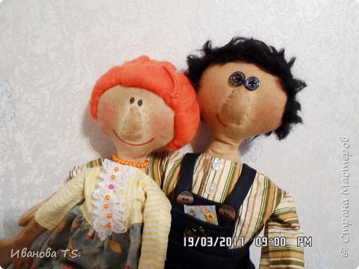 На чердаке, в старом сундуке, позабытые всеми, лежали две куклы... фото 10