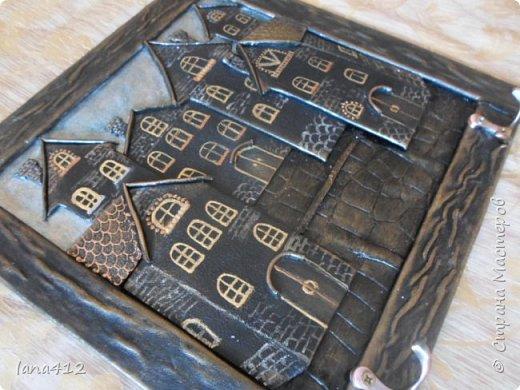 ключницу делала по мк Нади 53. .это уже вторая  подобная ключница фото 4