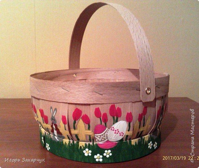 Пасхальная корзинка фото 2
