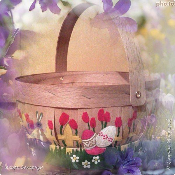 Пасхальная корзинка фото 1