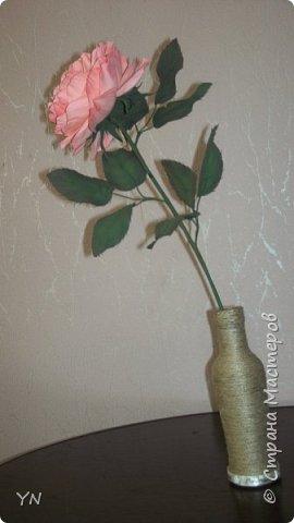 роза из фоамирана фото 1