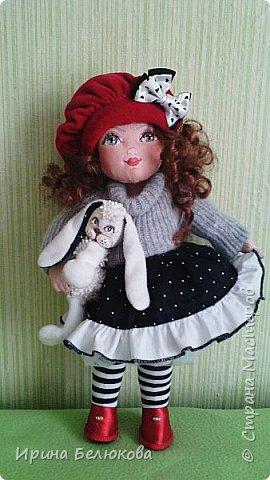 Текстильная кукла. фото 1