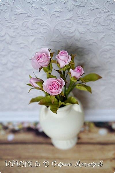 Доброго Всем времени суток!  Кустовые розочки из зефирного фома.  Размер цветочков от 1,5 до 3см в диаметре. Приглашаю к просмотру.  фото 15