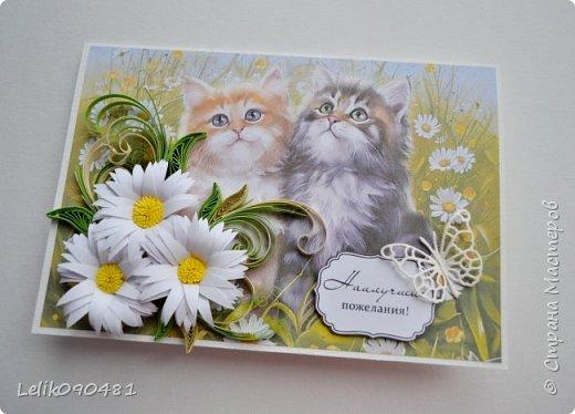 открытки в технике квиллинг фото 4