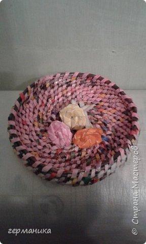 плетение из газетных трубочек фото 2