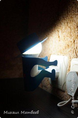Мальчик ночник так же сделан по подобию из интернет магазина светильников. фото 3