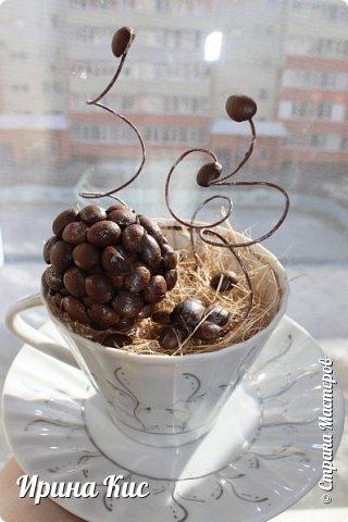 Небольшая оформляшка чайной пары в подарок фото 1