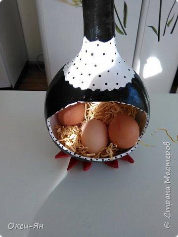 И опять я с тыквой.Грядут праздники,а у меня начинается ремонт и времени не будет.Я решила сделать такую веселую подставку для яиц. Все детали лепила из глины,тыкву красила фото 3