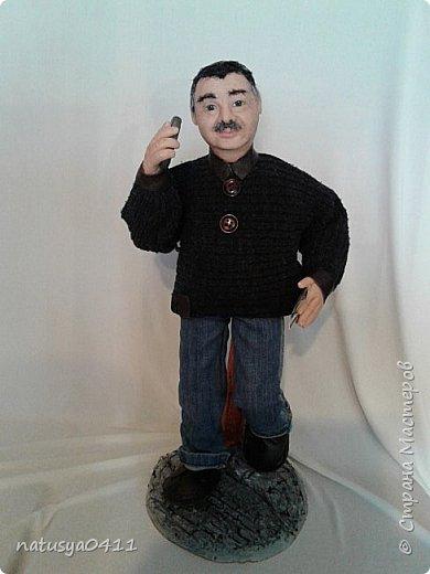 Портретная кукла из пластика фото 1