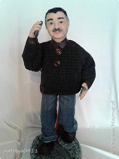Портретная кукла из пластика фото 2