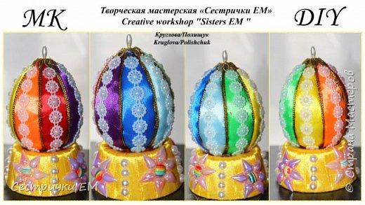 Мастер класс поможет в создании радужного пасхального яйца. Оригинальный сувенир украсит ваш праздничный стол или порадует ваших близких, если вы преподнесете им такой подарок в этот светлый день праздника Пасхи. Приятного просмотра