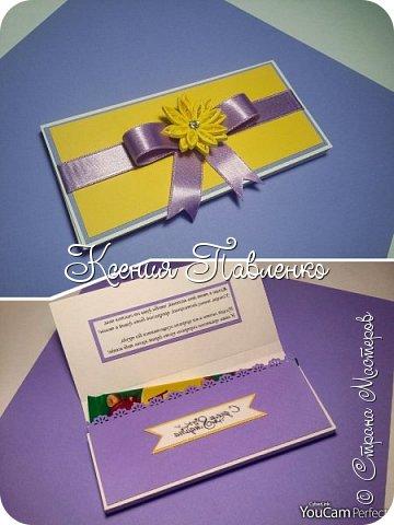 Симпатичные и простые в исполнении шоколадницы для сладкого подарка на 8 марта. фото 4