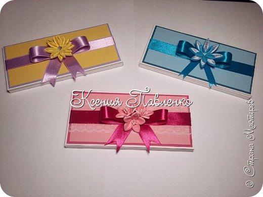 Симпатичные и простые в исполнении шоколадницы для сладкого подарка на 8 марта. фото 1