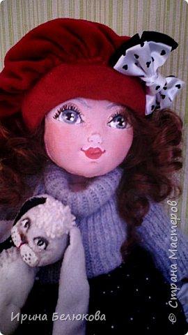 Текстильная кукла. фото 2