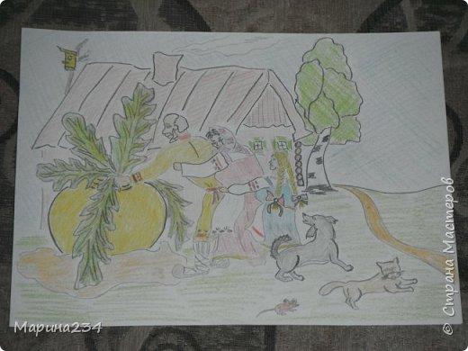 """Здравствуйте дорогие мои. Хочу представить Вам наши конкурсные работы) Не судите строго Первый рисунок мы делали на конкурс в школу. Конкурс проходил в ноябре на """"День Матери"""" и назывался """"С любовью к маме"""" Вот такой рисунок мы нарисовали фото 5"""