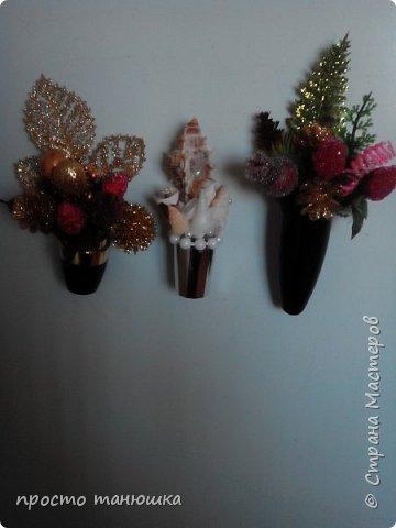 Из использованных тюбиков помад решила сделать миниатюрные букетики- магниты. фото 1