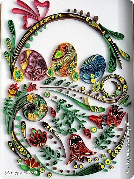 Добрый день,дорогие жители моей любимой страны!Скоро пасха-самый большой и светлый христианский праздник!Я посвящаю свою новую работу этому великому дню Воскресения христова! Христос воскрес и для всего мироздания началась истинная весна,светлое радостное утро новой жизни! фото 1