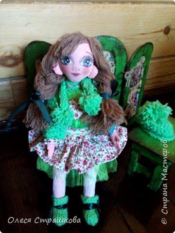 Ариша. Текстильная игровая куколка. фото 9