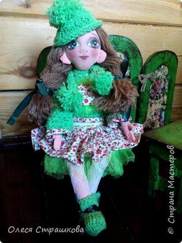 Ариша. Текстильная игровая куколка. фото 8