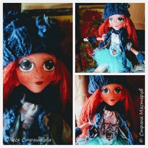 Ариша. Текстильная игровая куколка. фото 1