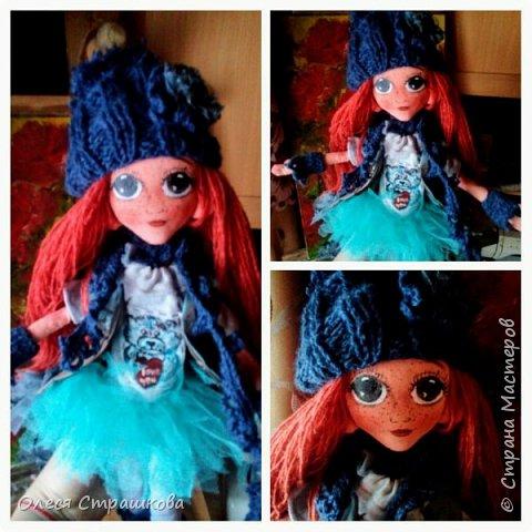 Ариша. Текстильная игровая куколка. фото 2