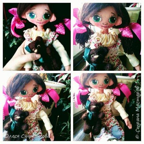 Ариша. Текстильная игровая куколка. фото 4