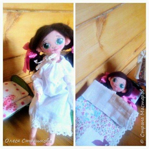 Ариша. Текстильная игровая куколка. фото 6