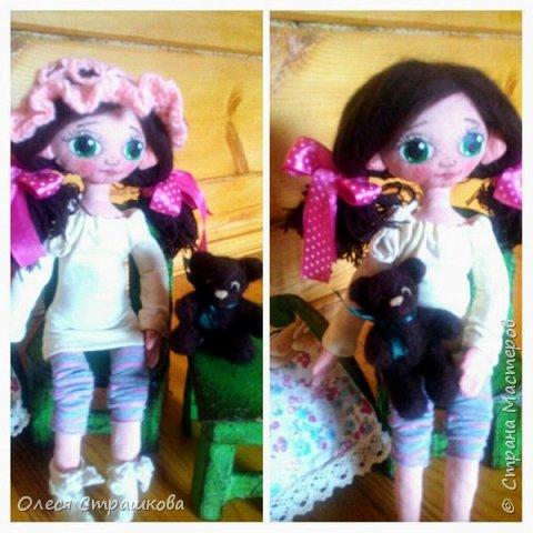 Ариша. Текстильная игровая куколка. фото 5