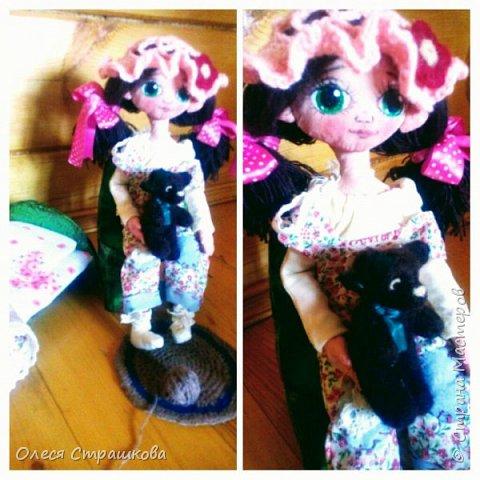 Ариша. Текстильная игровая куколка. фото 7