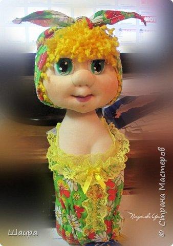Кукла-грелка на чайник. Рост 55 см. Ручки на проволке. Нижняя юбка на синтепоне. Юбки съемные. фото 4