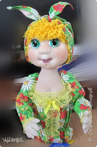 Кукла-грелка на чайник. Рост 55 см. Ручки на проволке. Нижняя юбка на синтепоне. Юбки съемные. фото 5
