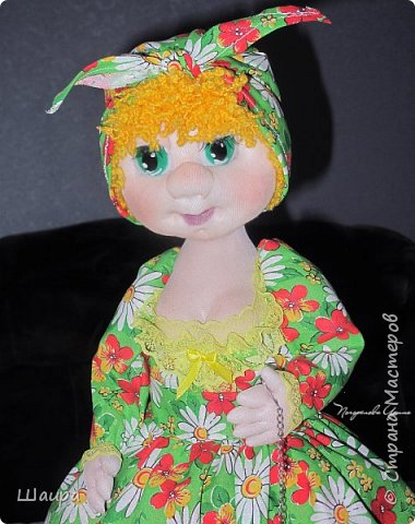 Кукла-грелка на чайник. Рост 55 см. Ручки на проволке. Нижняя юбка на синтепоне. Юбки съемные. фото 7