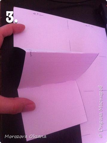 Насмотрелись мастер-классов как создать мини-альбом из 1 листа двухсторонней скрап бумаги.  Попробовала. Получилось. Мне понравилось. Маленький, миленький. Вот только фото не успела распечатать и приклеить... Сам размер альбома 7,5 х 10 сантиметров.  Фото вклеить можно примерно 6х9 см. Три кармашка для тегов.  На примере листа А4 покажу как сделать это миниальбомчик. фото 4
