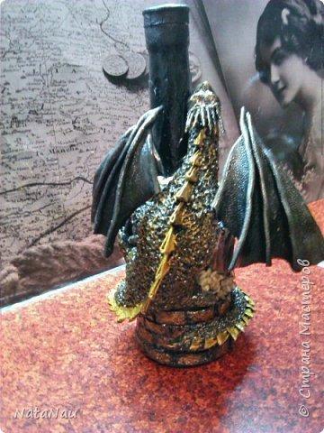 дракон на бутылке фото 3